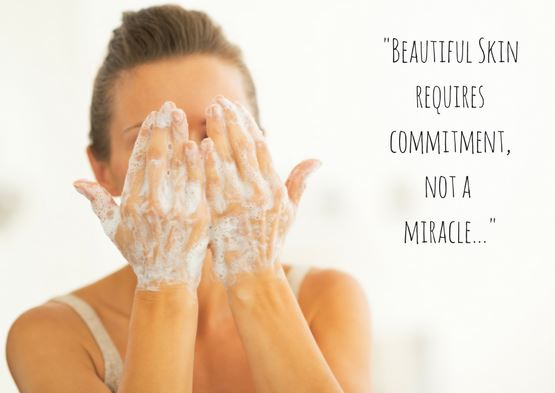 Beautiful Skin Requires Commitment