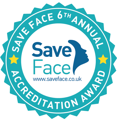 Accredited by Save Face